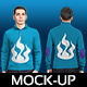 Male Sweater Mock-up - GraphicRiver Item for Sale
