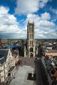 Saint Bavo Cathedral and Sint-Baafsplein, view from Belfry. Ghen - PhotoDune Item for Sale