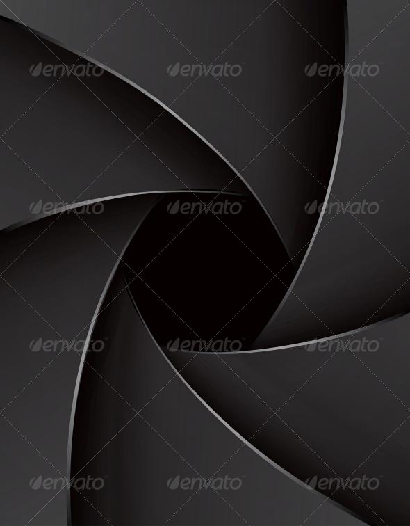 GraphicRiver Shutter Aperture Illustration 4531189