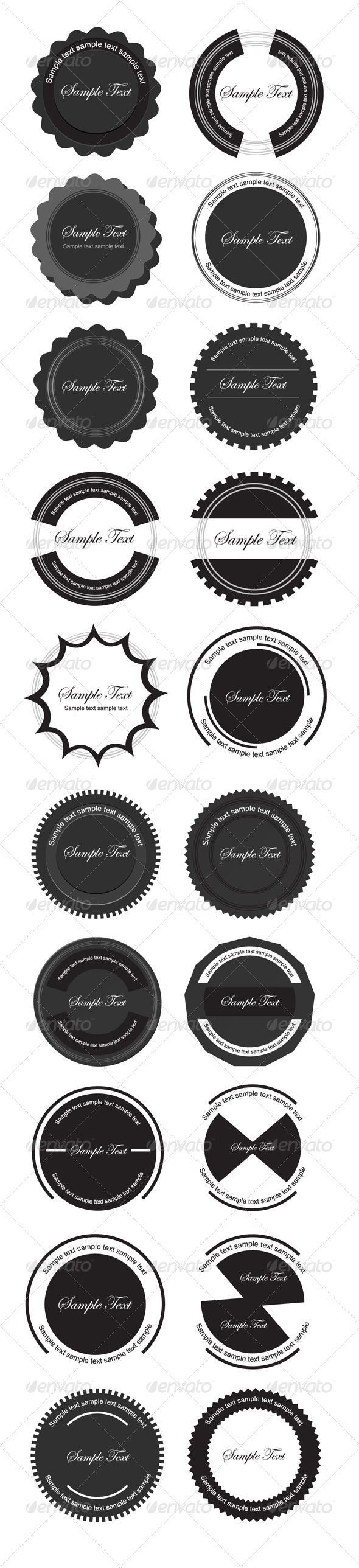 GraphicRiver Vintage Labels 4531578