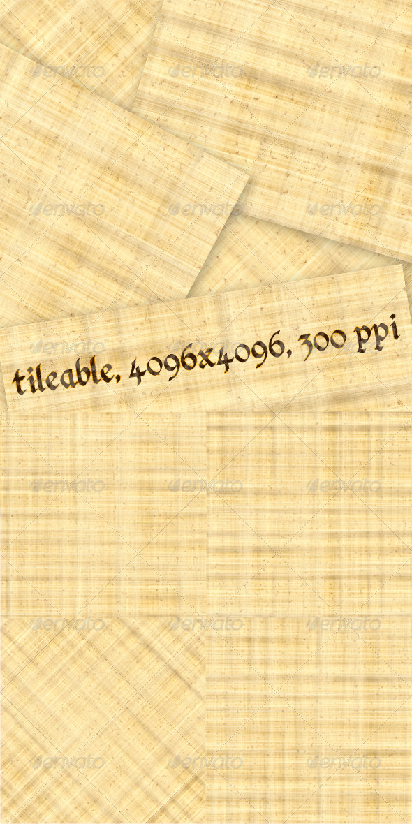GraphicRiver 4 Papyrus Textures 4531660