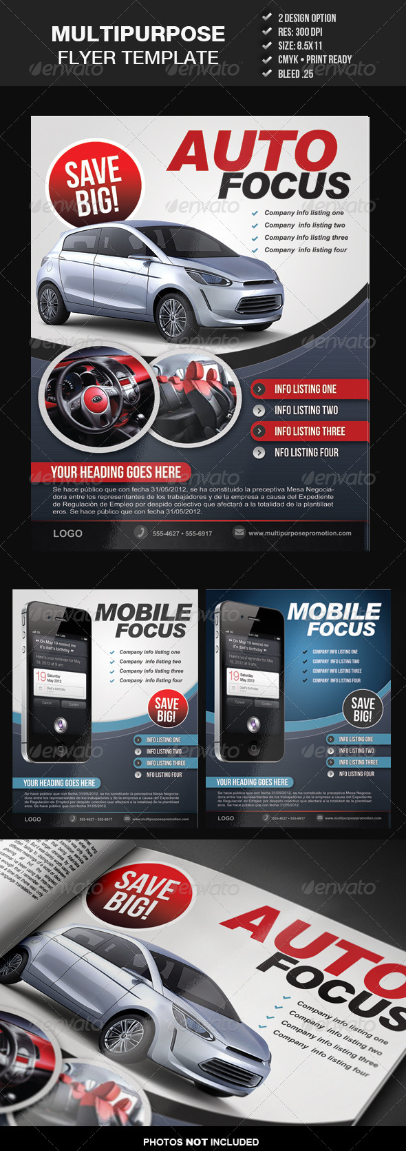Multipurpose Flyer Template 3 - Commerce Flyers