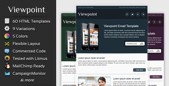Viewpoint - Multipurpose Email Template