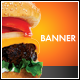 Food Promo Roll-up Banner - GraphicRiver Item for Sale