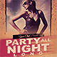 Grunge Party Flyer Template - GraphicRiver Item for Sale
