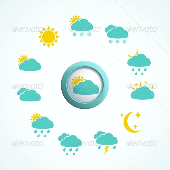 GraphicRiver Weather Design Elements 4533451