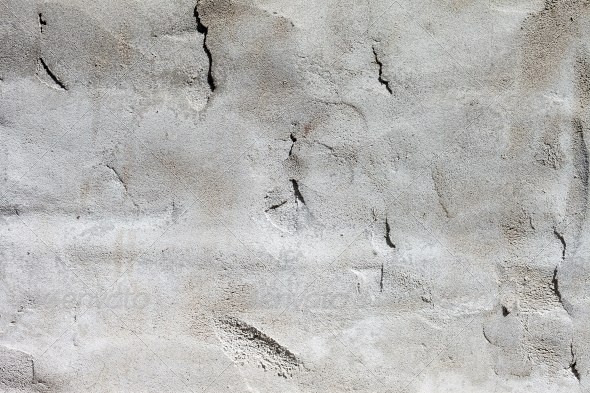 GraphicRiver Background high detailed fragment stone white wall 4534217