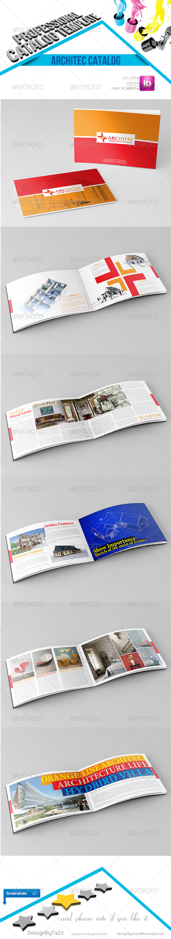 GraphicRiver Architec Corporate Identity Catalog 4534650