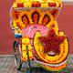 Tricycle Decorated with Silk Flowers - PhotoDune Item for Sale