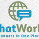 Chat World Logo - GraphicRiver Item for Sale