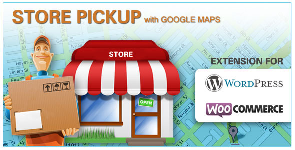 Ramassage en magasin Google Maps - WooCommerce ( Wordpress ) - WorldWideScripts.net objet en vente