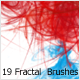 19 Fractal  Brushes - GraphicRiver Item for Sale