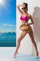 fashion girl in bikini sunbathing - PhotoDune Item for Sale