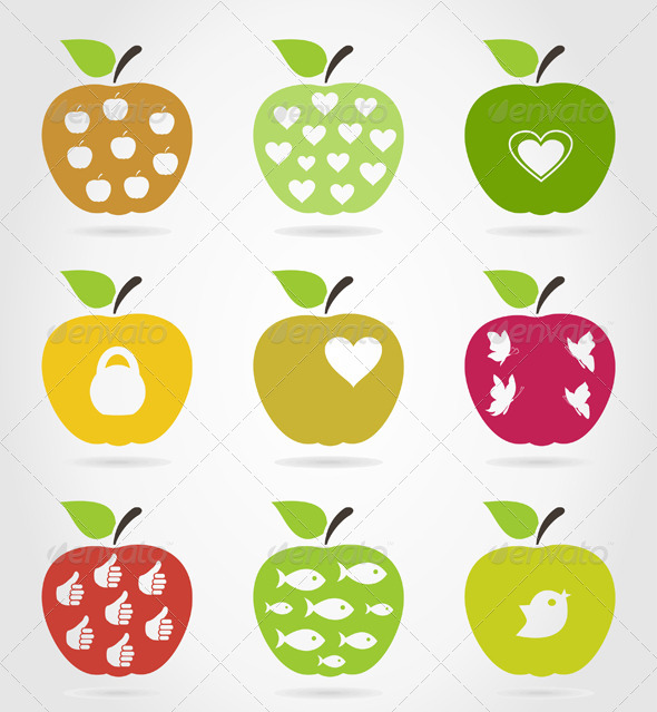 GraphicRiver Apple Icons 3 4538942