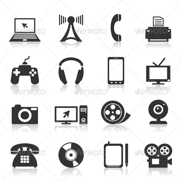 GraphicRiver Electronics an Icon 2 4539275