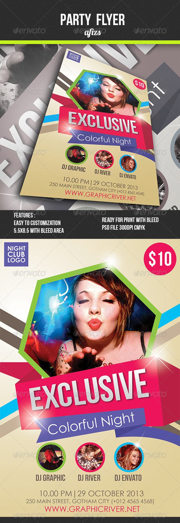 GraphicRiver Party Flyer 4540010