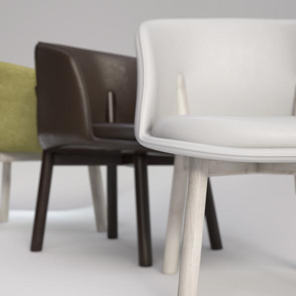 3DOcean Peg Chair by Nendo 4540691