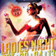 Ladies Cocktail Night Flyers - Summer - GraphicRiver Item for Sale