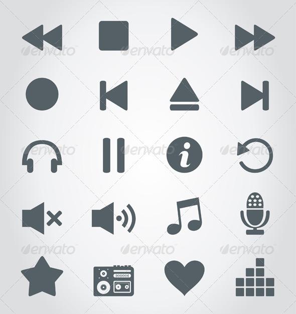 GraphicRiver Media an Icon 4540732