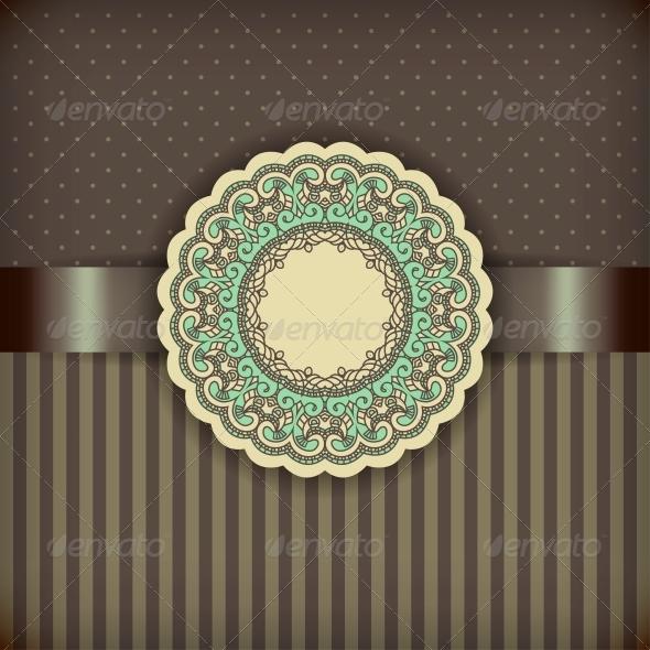GraphicRiver Retro Brown Background 4541695
