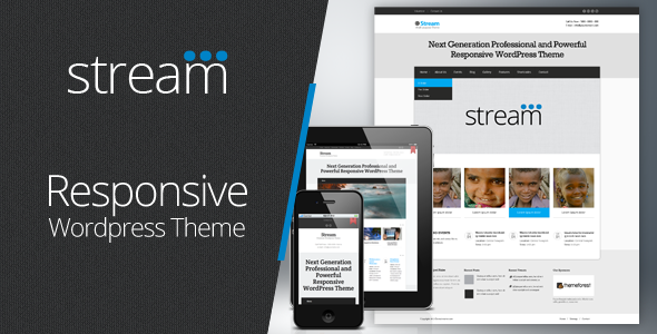 Stream | Responsive Multi-Purpose Wordpress Theme
