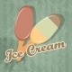 Retro Ice Cream background - GraphicRiver Item for Sale