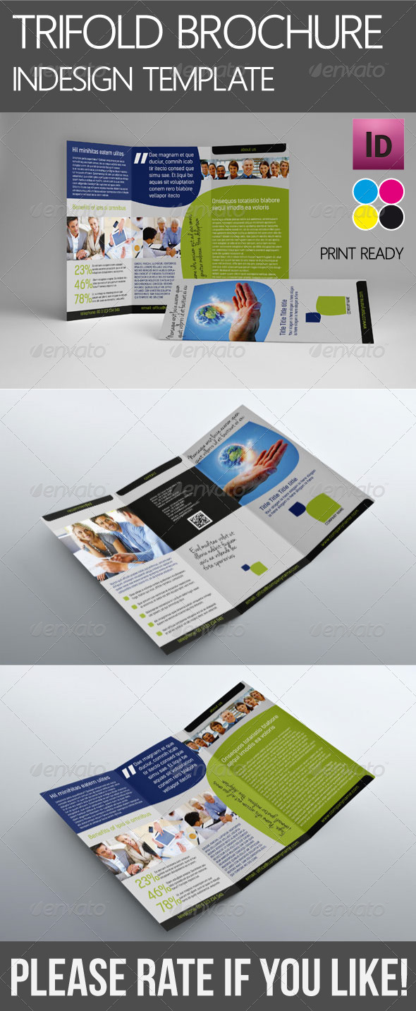 GraphicRiver Trifold Corporate Brochure 4542826
