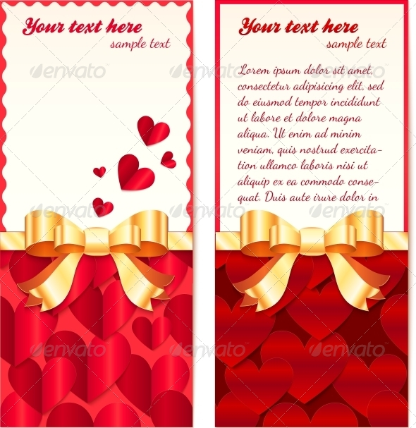 GraphicRiver Valentines Day Greeting Cards Templates 4543403