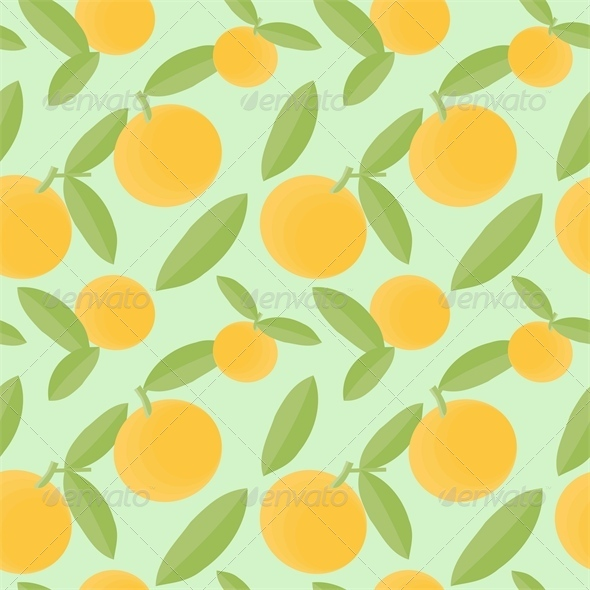 GraphicRiver Oranges Pattern 4543593