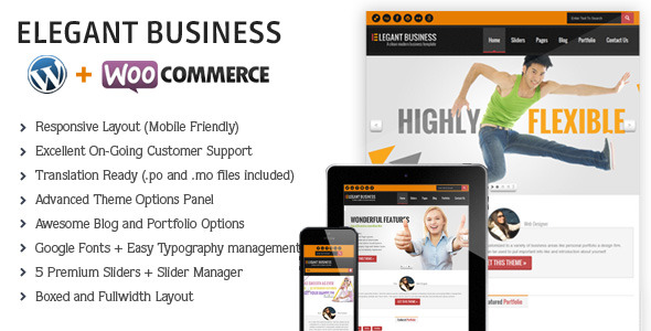 Elegant | Responsive Business Theme