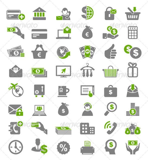 GraphicRiver Icon Business 8 4545477
