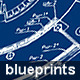 3 Blueprint Backgrounds - GraphicRiver Item for Sale