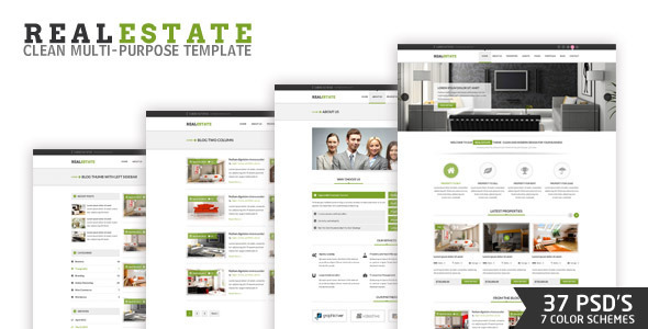 ThemeForest RealEstate PSD 4548342