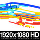 Colorful 3D Neon Lines Moving in Organic Path - VideoHive Item for Sale