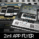2 in 1 APP Flyer  - GraphicRiver Item for Sale