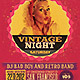 Retro Style Party Flyer - GraphicRiver Item for Sale