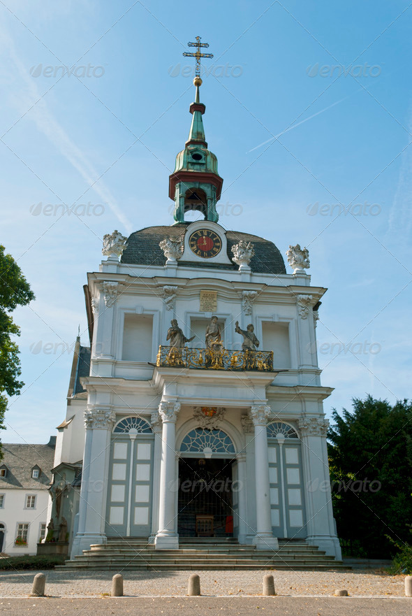 Kreuzberg Church on Bonn - Stock Photo - Images
