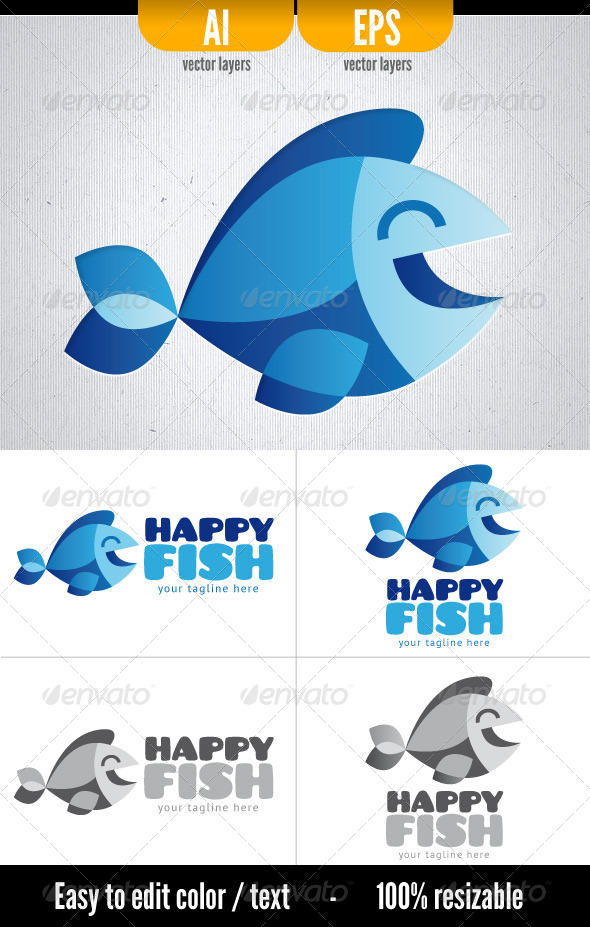 GraphicRiver Happy Fish 4550799