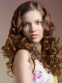 pretty brunette with curly hair - PhotoDune Item for Sale