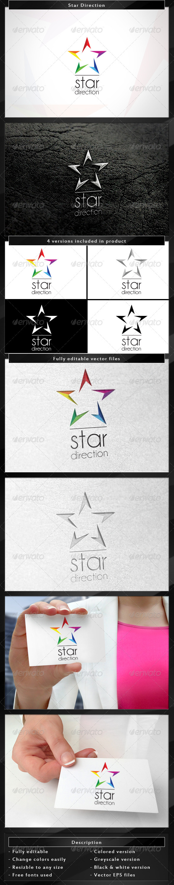 GraphicRiver Star Direction 4551798
