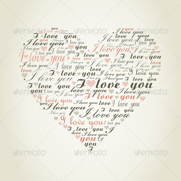 GraphicRiver Love Heart 4553496