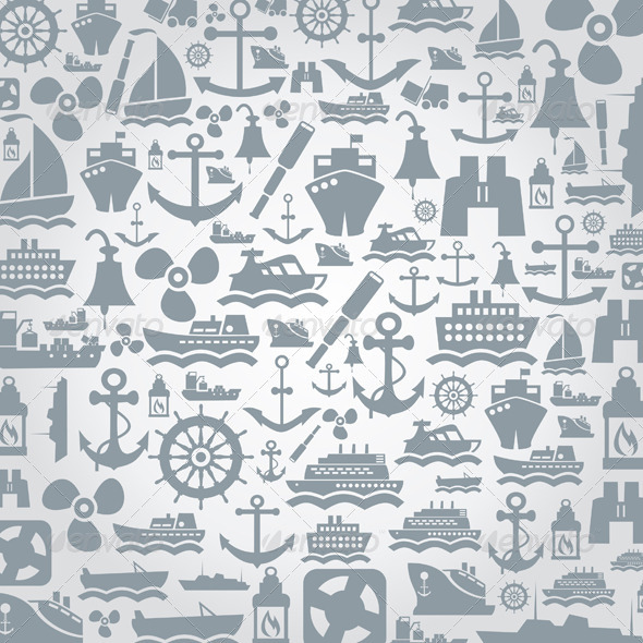 GraphicRiver Ship a Background 4553971