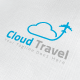 Cloud Travel Logo - GraphicRiver Item for Sale