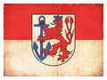 Grunge flag of Duesseldorf (North Rhine-Westphalia, Germany) - PhotoDune Item for Sale
