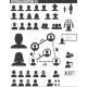 Vector Set Web Icons. People Communication - GraphicRiver Item for Sale