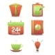 Vector Set Icons. Time Management Business - GraphicRiver Item for Sale