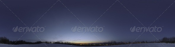 3DOcean Skydome HDRI VII Blue Moment 4556272