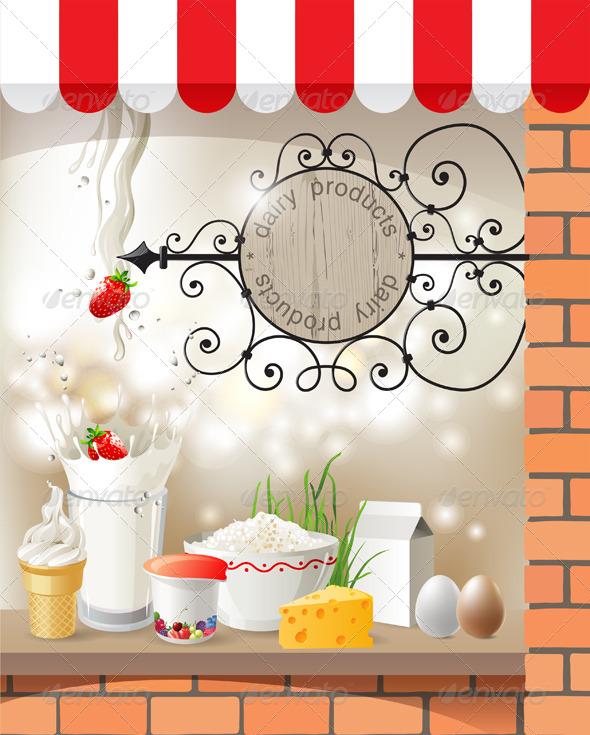 GraphicRiver Dairy Store 4556547