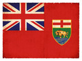 Grunge flag of Manitoba (Canadian province) - PhotoDune Item for Sale