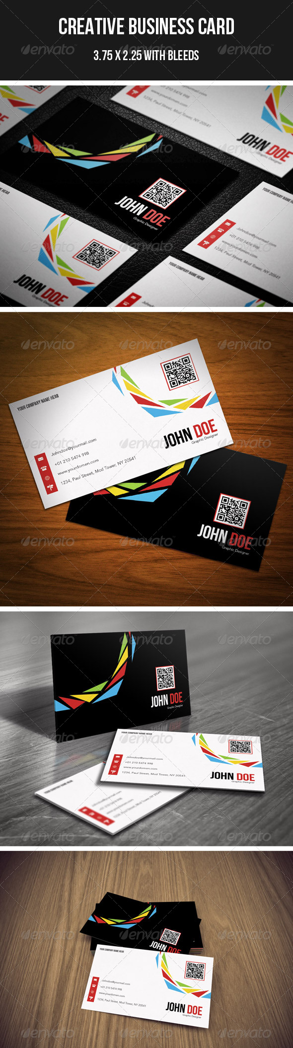 GraphicRiver Creative Business Card 11 4313450